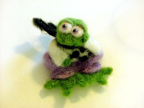 צפרדע בחורף